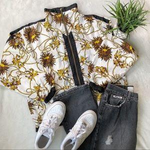 Vintage Bold Spirit Windbreaker Jacket